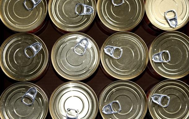 Россия запретила импорт консервов из Украины