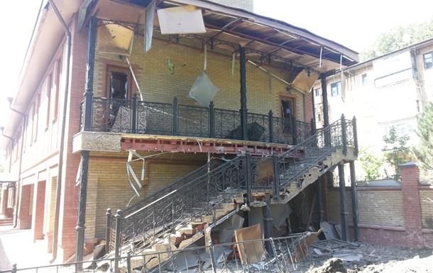 Епархиальное управление в Горловке попало под обстрел, есть жертвы