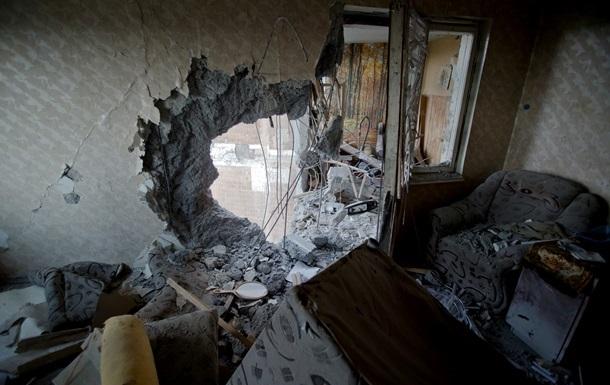 Донецк ночью подвергся артобстрелу