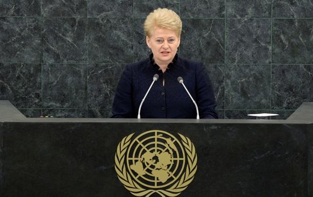 Литва готовит новый пакет санкций против России