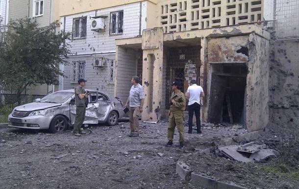 Артобстрел Донецка 29 июля: фото и видео
