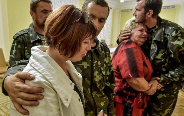 В Горловке освобождены 17 заложников