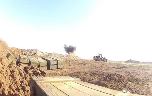 Обстрел украинских военных на границе с РФ глазами очевидца