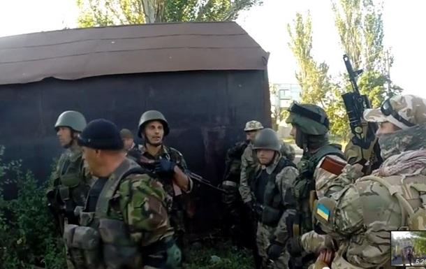 Обнародовано видео спецоперации  Азова  в поселке Новый Свет