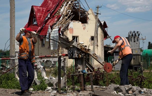 На восстановление Донбасса дали 2 миллиарда
