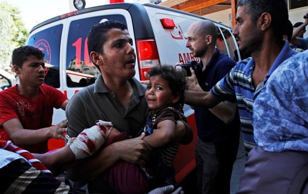 Количество жертв в секторе Газа сравнялось с числом погибших при предыдущем конфликте