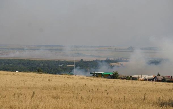 Бойцов АТО атаковали возле освобожденного города: фото, видео