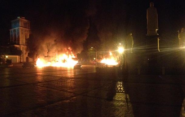 Странный  пожар на Михайловской (хронология и видео)