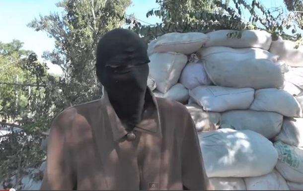 Мужчина рассказал, как попал в плен и строил блокпосты для сепаратистов