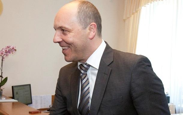 Парубий собирается покинуть пост секретаря СНБО – СМИ
