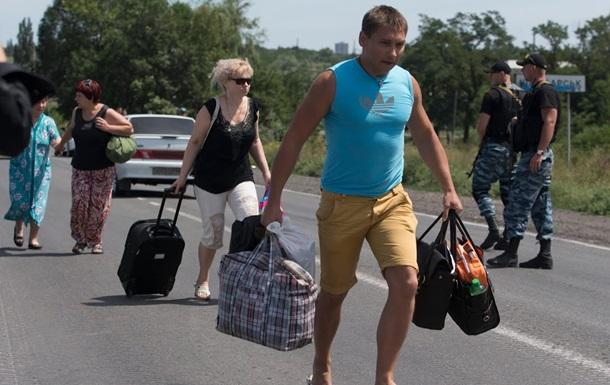 Более ста вынужденных переселенцев вернулись в Краматорск и Славянск