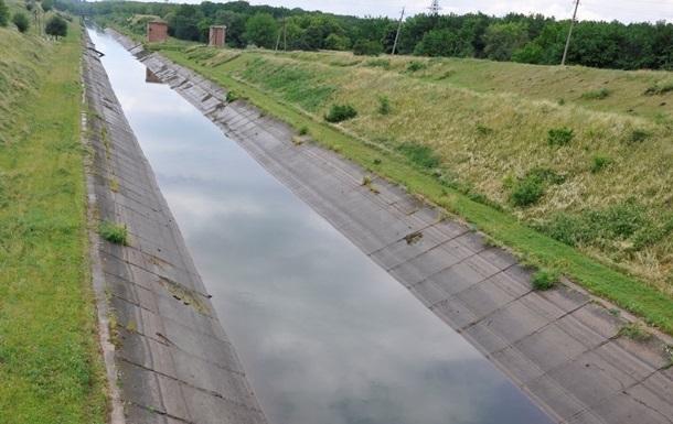 Восстановлено электроснабжение насосной станции канала Северский Донец -Донбасс