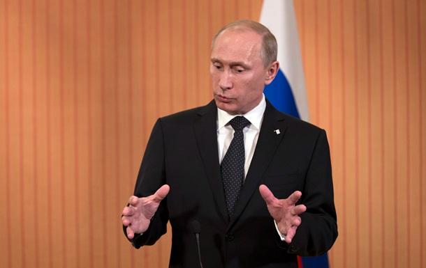 Рейтинг Путина в России на  крымском эффекте  вырос до 87%