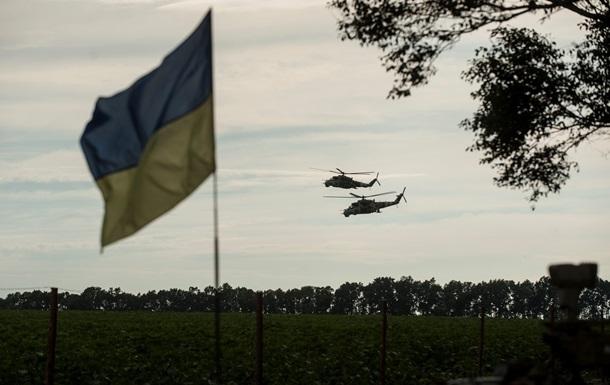За сутки в зоне АТО погибли семь украинских военных