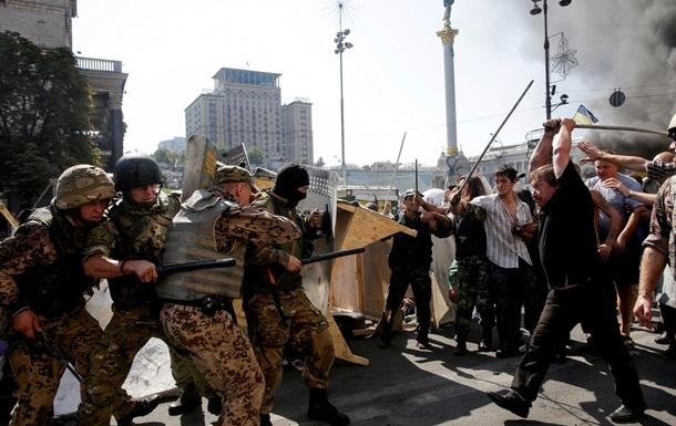 В столкновениях на Майдане пострадало 50 силовиков - МВД