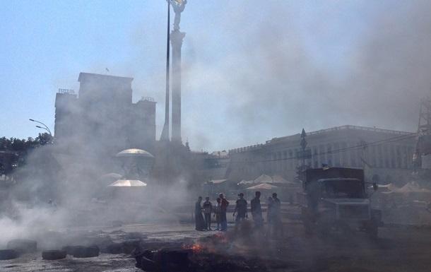 Метро Майдан Незалежности открыли для пассажиров