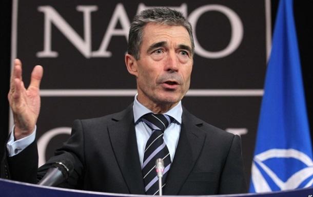 НАТО никогда не планировало создавать военные базы в Украине - Расмуссен