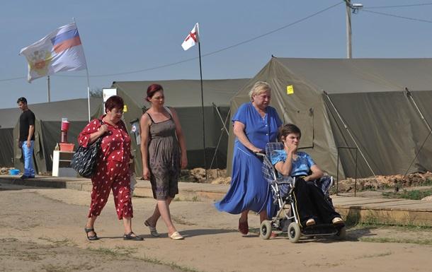 В Крыму и некоторых городах России закончились места для украинских беженцев
