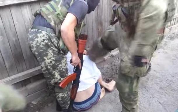 Как батальон Днепр задерживал подозреваемого в сепаратизме