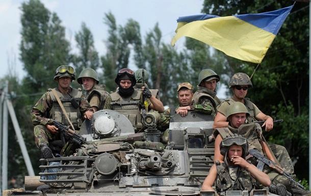 Украинские десантники освободили село Круглик в Луганской области