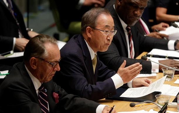 ООН готова увеличить гуманитарную помощь Украине - Пан Ги Мун
