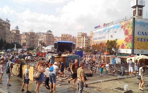 Улицы Крещатик, Михайловская и Городецкого освобождены для проезда
