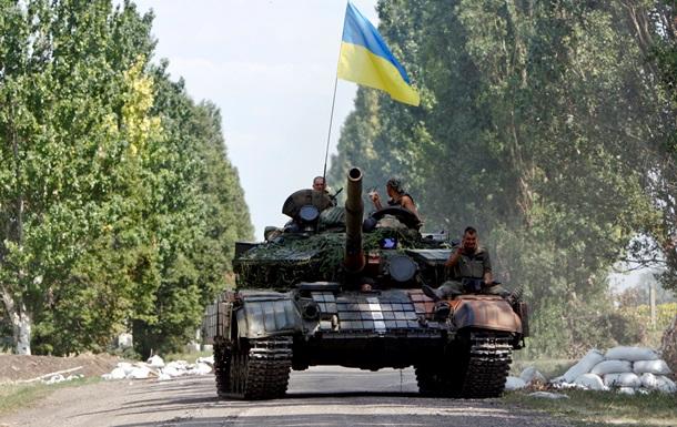 Силовики сужают кольцо вокруг Донецка - пресс-центр АТО