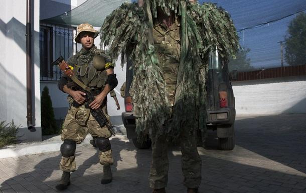 В Днепропетровске собирают новый батальон контрактников