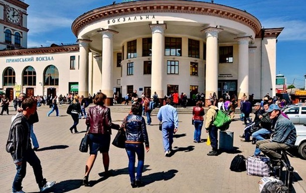 В Киеве станцию метро Вокзальная закрыли из-за угрозы взрыва