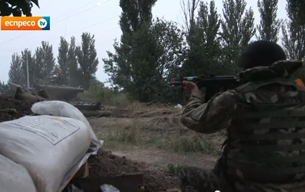 Батальон Днепр ведет бои на окраине Донецка