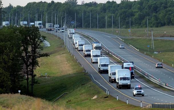 На российские КАМАЗы с гуманитарной помощью повесят украинские автомобильные номера