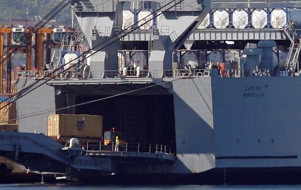 На борту американского военного корабля уничтожены запасы отравляющего газа из Сирии