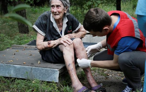 От обстрелов Донецка пострадали пять мирных жителей – горсовет