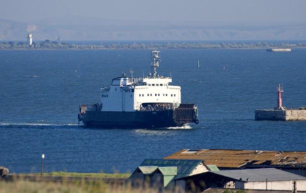 На Керченской переправе запретили перевозку грузового транспорта