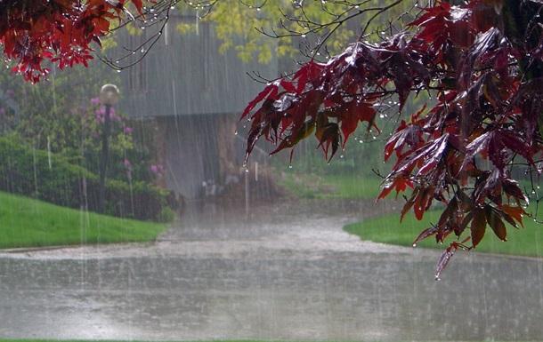 На выходных в Украине похолодает, пройдут дожди