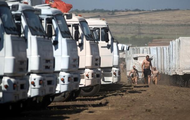 МИД России видит угрозу колонне с гуманитарной помощью