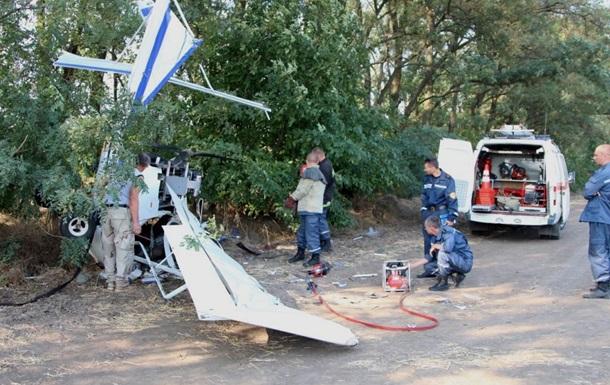 В Днепропетровской области упал самолет, есть пострадавшие
