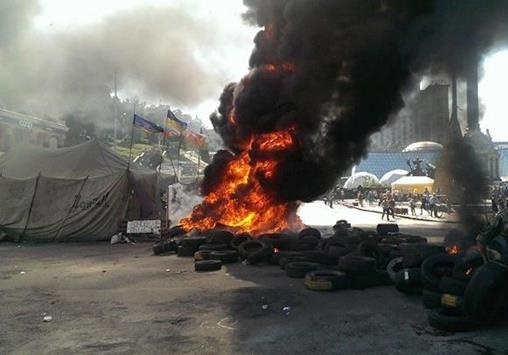 Разгон Майдана. Революция пожирает своих детей?