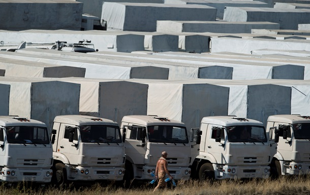 Украина признала груз Красного креста гуманитарной помощью