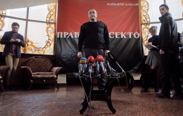 Правый сектор грозит Порошенко через двое суток идти на Киев