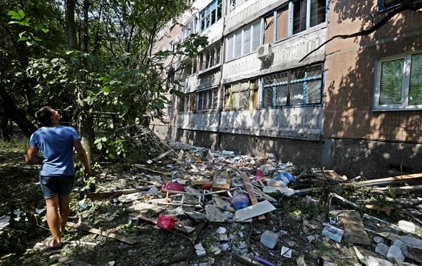 В Донецке к вечеру утихла стрельба