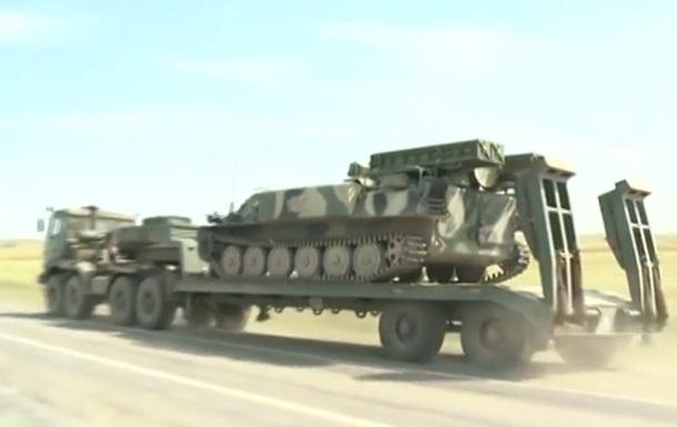 Российская техника едет к украинской границе – польский канал