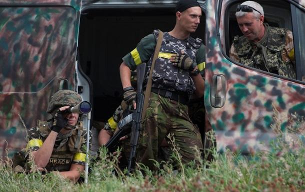 За сутки в зоне АТО погибли девять военных