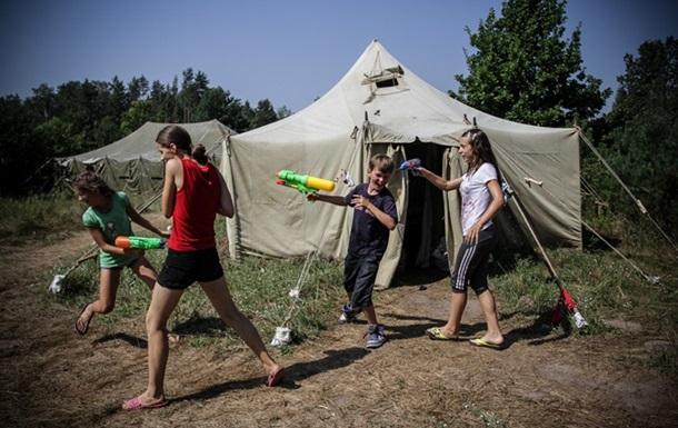 Дети из зоны АТО проходят реабилитацию в  Лесной заставе