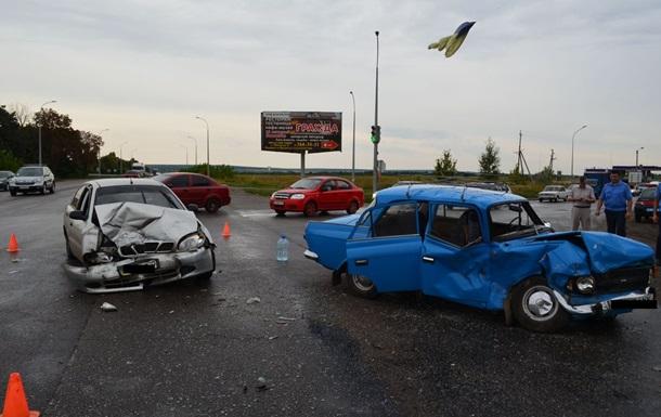 ДТП в Харькове: пострадали семь человек