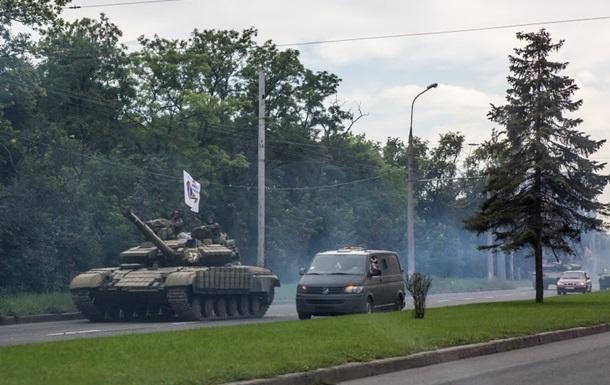 Разведка не обнаружила бронетехнику России в Луганске
