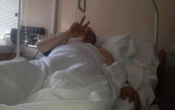 В сети появились фотографии комбата  Донбасса  в больнице