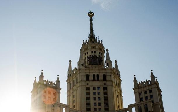 Названы подозреваемые в установке флага Украины в Москве