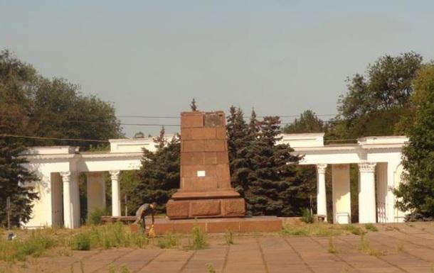 В Мариуполе снесут все памятники Ленину