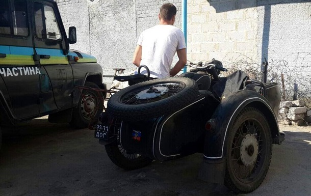 Бойцы АТО задержали вымогателя, требовавшего деньги с мирных граждан за проезд блокпоста